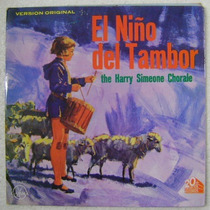 El Niño Del Tambor 1 Disco Lp Vinilo