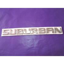 Emblema Suburban Camioneta Chevrolet