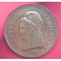 Moneda 2 Centavos Prueba Edo. De Coahuila 1890 Cobre