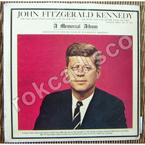 Documental, John Fitzgerald Kennedy, A Memorial Album, Lp12