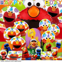 Kit Elmo Cumpleaños Definitiva Para 8