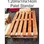 Palets Recicladas De 1.2mx1mx14cm - Tarimas