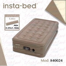 Colchón Inflable Insta Bed Individual Modelo 840024