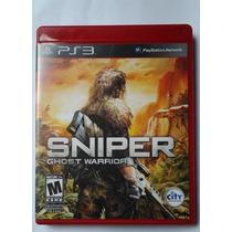 Ps3 Sniper Ghost Warrior $300 Pesos Seminuevo Vendo / Cambio