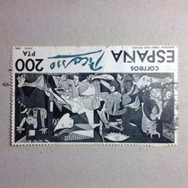 Timbres Estampilla Postal De Picasso El Guernica