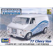 Rev7221 1977 Chevy Van 1/25 Revell