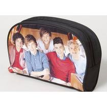 Envio Bolsa One Direction Lapices, Cosmeticos Grande Cierre