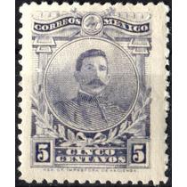 3061 Revolución Scott #622 Azul Claro 5c Mint L H 1917-20