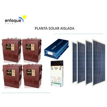 Planta Energia Solar Fotovoltaico 1000w Alta Calidad