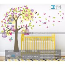 Vinilo Decorativo Árbol Infantil-i 30. Calcomanía Para Bebé.