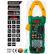 Multimetro True Rms De Gancho Mastech Ms2015a Detector De V