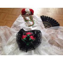 Disfraz Vestido Traje Típico Veracruz Veracruzana Jarocha
