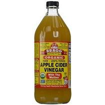Bragg Organic Raw Sin Filtrar El Vinagre De Manzana 32 Oz