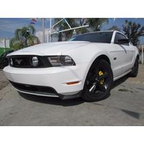 Ford Mustang 2010 8cil. Piel, Aut. En Muy Buenas Condiciones