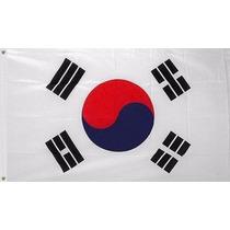 Bandera Corea 150x90cm Pais Seleccion Taekwondo Tkd