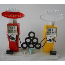 Rara Y Vieja Bomba Estacion De Gasolina Jugarama 1960s