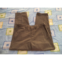 Pantalon Verde Olivo De Vestir Puritan Para Caballero 34x32
