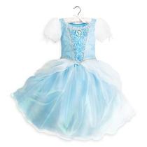 Vestido Disfraz Cenicienta Modelo 2016 100% Disney Store!