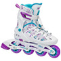 Patines Roller Derby En Linea Para Niña Blakhelmet Sp