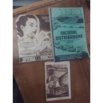 Antiguos Catalogos De Tlapaleria Muebleria Joyeria 1938 1939