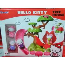 Hello Kitty Casa Del Árbol - Original - Oferta!!!
