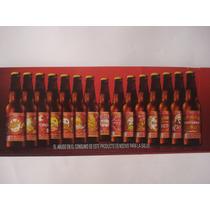 15/15 Botellas 210 Ml Cerveza Victoria 150 Años Sin Liquido