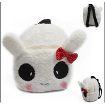 Mochila Conejita Conejo Panda Kawaii Mujer Niña Prescolar