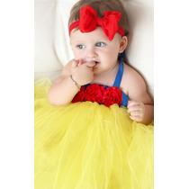 Disfraz Bebe Niña Blanca Nieves Todas Las Tallas