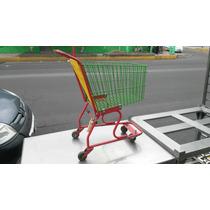 Carrito Supermercado Mini Juguete