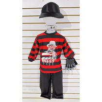 Disfraz Freddy Krueger Espantapajaros La Mascara Chucky
