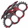 Hissing Dragon Red & Silver Knuckle (entrega 3 - 4 Semanas)