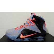 Tenis Nike Lebron James 12 28 Cm 8 Mx Nuevo 100% Original