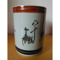 Vaso Sake Oriental Japones Kanji Souvenir Asia Restaurante
