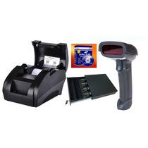 Kit Punto De Venta,escaner,impresora,cajon Dinero Y Software