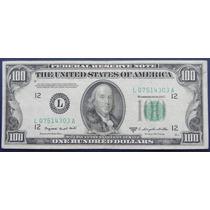 Billete De Usa $100 Dlls San Francisco 1950 Escaso Excelent