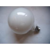 Foco Globo Blanco Luz Incandecente De Lujo 100 Watt
