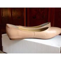 Zapatos Talla Grande 8.mexicano, Piel, Color Beige Maquillaj