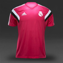 Playera T-shirt Entrenamiento Real Madrid 2014-2015 Adidas