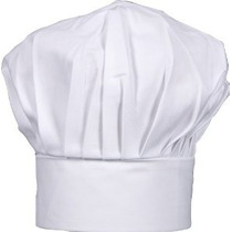 Hic Tamaño Adulto Sombrero Chef Ajustable
