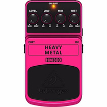 Pedal De Distorsion Behringer Hm300 Heavy Metal