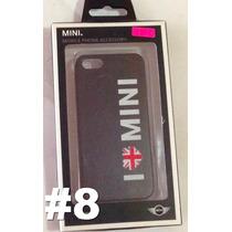 Caratula Mini Cooper Nuevas Para Iphone 5/5s Varios Modelos
