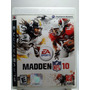 Madden Nfl 10 Para Playstation 3 Completo Ps3