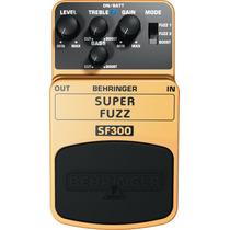 Pedal Behringer Super Fuzz Sf300 100% Nuevo Original