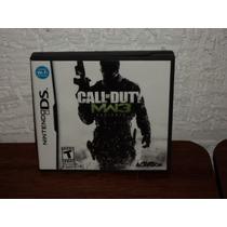 Nintendo Ds Call Of Duty Mw3 Defiance En Caja