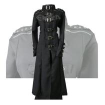 Gabardina Algodon Cierre Cuello,eretica,dark,gotico,metalera