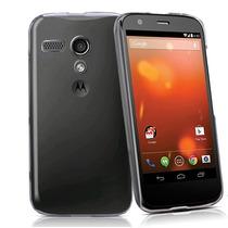 Funda Caratula Case Transparente Rigida Motorola Moto G2