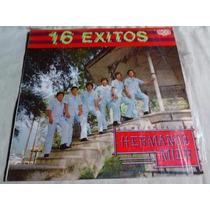 Los Hermanos Mier - 16 Exitos (disco Lp)