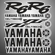 Stikckers Para Yamaha R6 Vbf