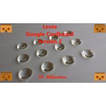 Lente Google Cardboard V2 + Imán 10unidades,d34mm*f39.3mm Eg