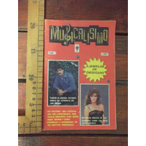Musicalisimo Revista N.1 Ed.vid Abril 1986,lucía Méndez